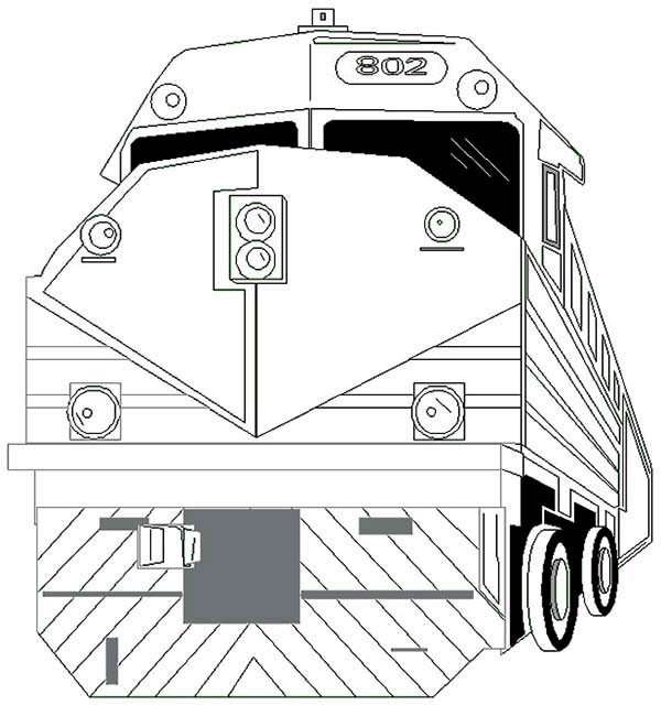 download print it - Train Coloring Pages 2