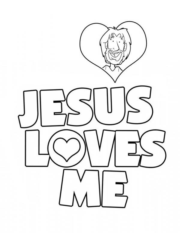 Jesus Love Me Sticker Coloring Page Jesus Love Me Sticker Coloring Pages Jesus Shine In Me Page