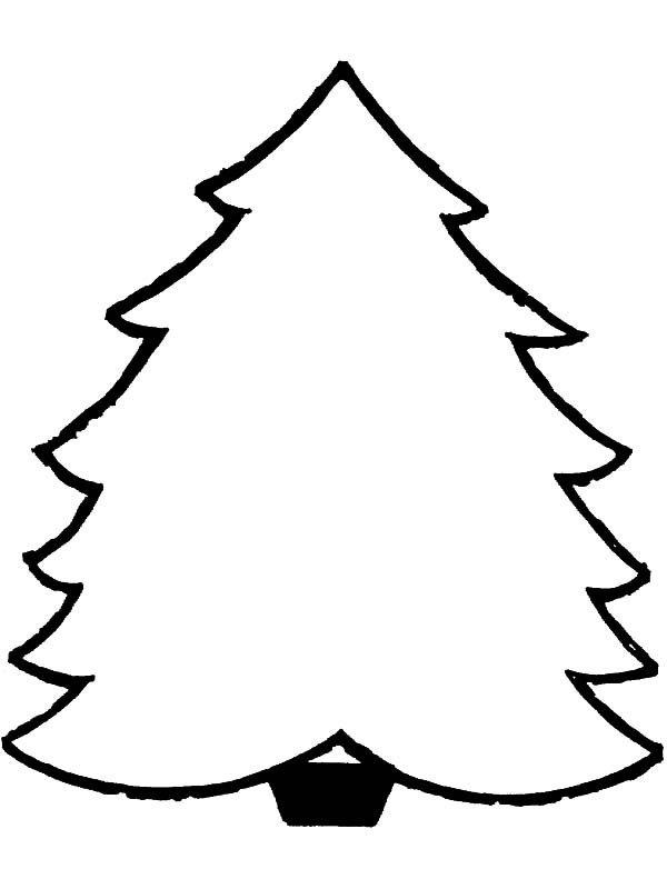 Christmas Trees How To Draw Coloring Pages