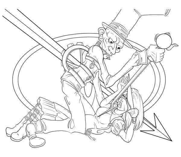 Mad Hatter, : Mad Hatter Devian Art Coloring Page