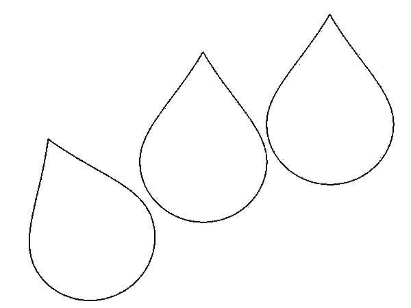 rain drop coloring pages - photo#13