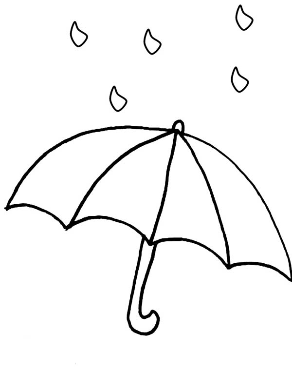Printable Raindrops Coloring Pages  Coloring Pages