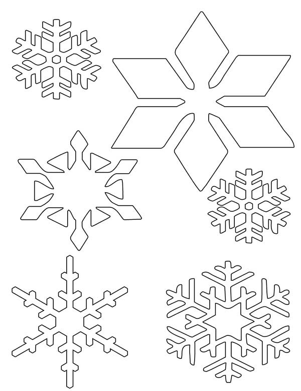 snowflakes wonder coloring page - Christmas Snowflake Coloring Pages