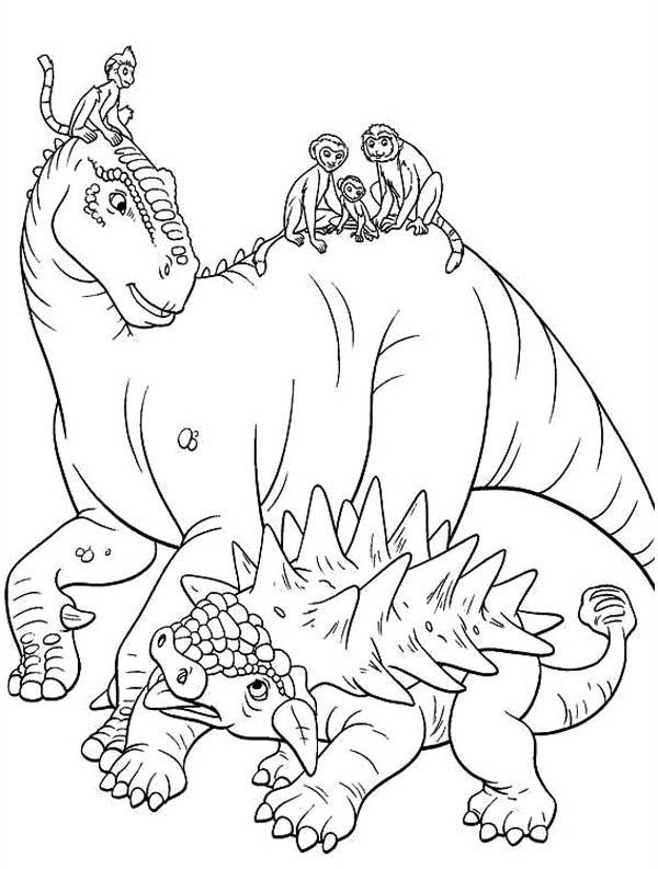 disney dinosaur coloring pages | Disney Dinosaur Aladar Coloring Coloring Pages