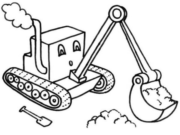 digger s coloring pages - photo#15