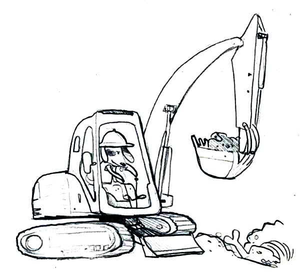 digger s coloring pages - photo#23