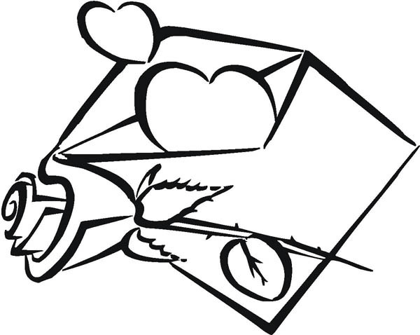 awesome picture of hearts and roses coloring page color luna - Coloring Pages Hearts Roses