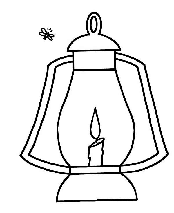 Christmas Chinese Lantern Coloring Pages