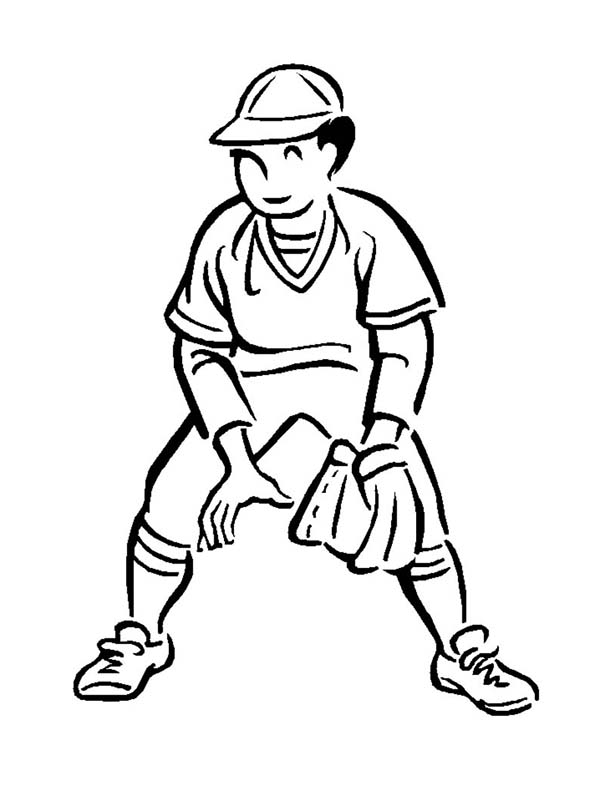 MLB, : Great Short Player in MLB Coloring Page