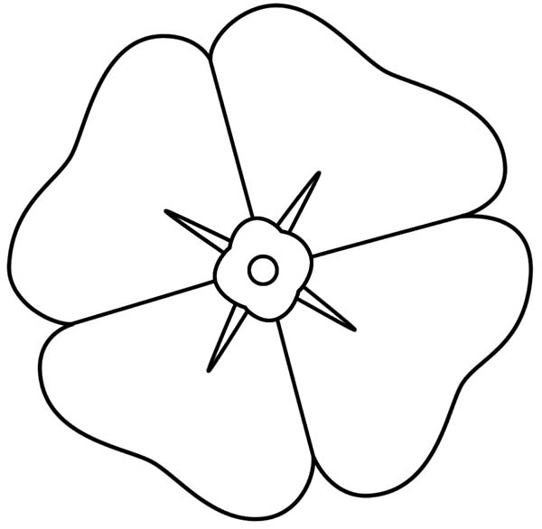 Poppy, : How to Draw Poppy Coloring Page