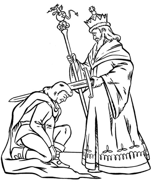 coloring pages middle ages - photo#32