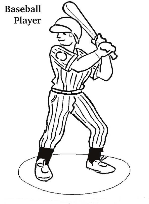 baseball players coloring pages - baseball player hairstyles hairstyle gallery