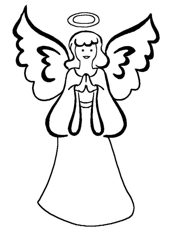 Mother of Angels Coloring Page Color Luna