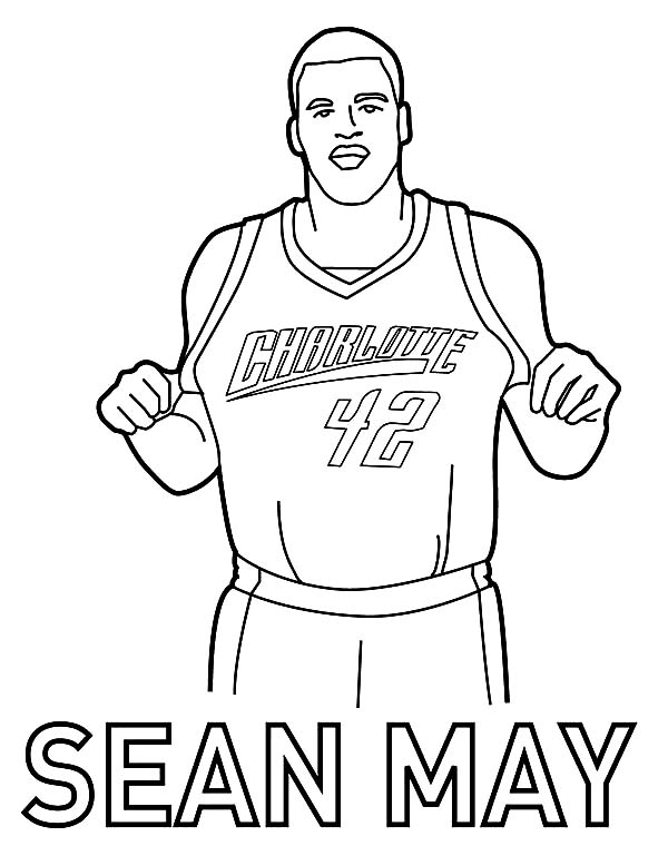 oklahoma city thunder coloring page - kevin durant warriors coloring pages printable kevin