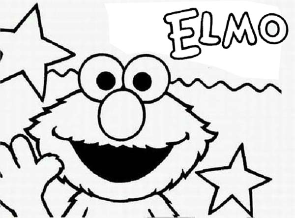 coloring pages of elmo - sesame street opening by elmo coloring page color luna