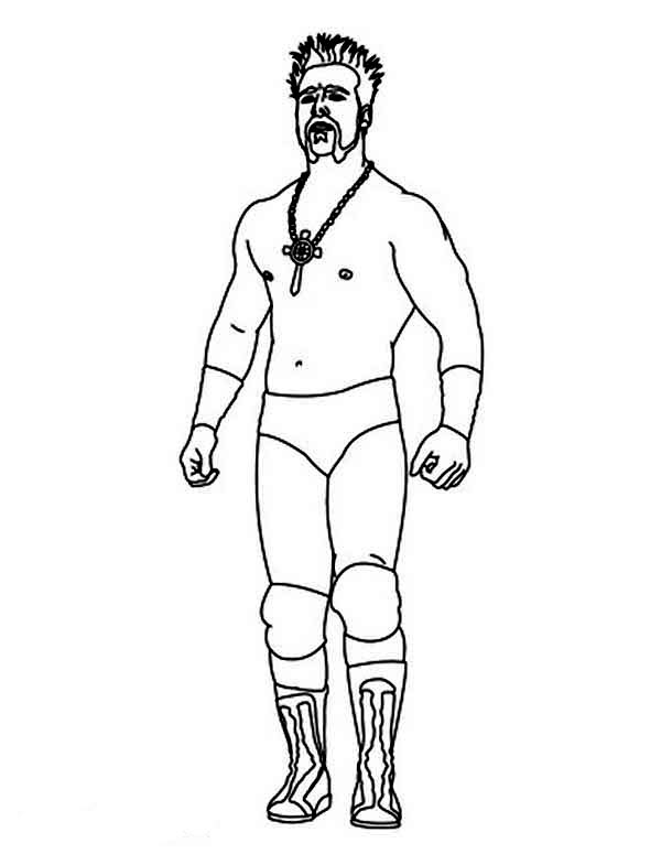 Wrestling, : Sheamus from World Wrestling Entertainment  Coloring Page