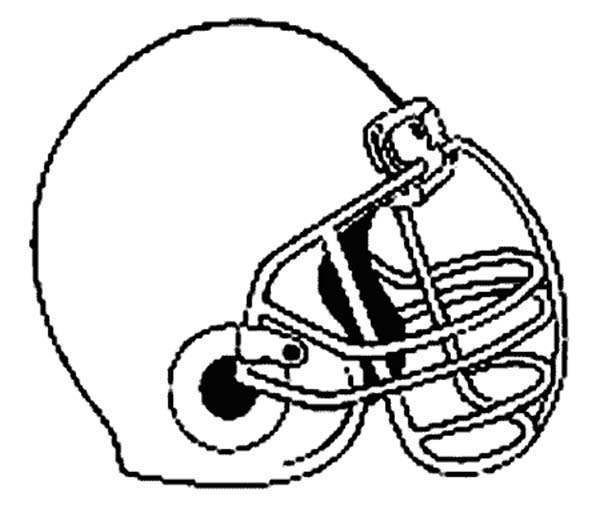colts football helmet coloring pages - photo#26
