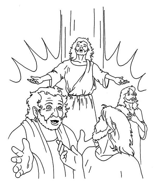 Pentecost free coloring pages for Pentecost coloring pages