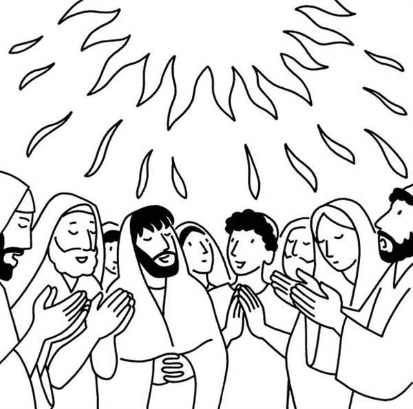 Pentecost Commemorates God Giving The Ten Commandments At