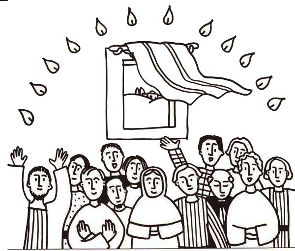 Pentecost, : Pentecost Day for All Jesus Follwers Coloring Page