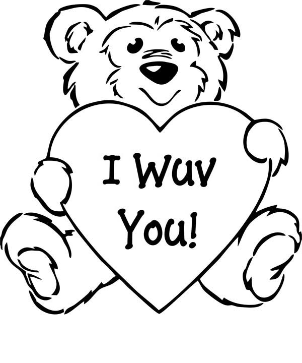 i love you even on april fools day coloring page