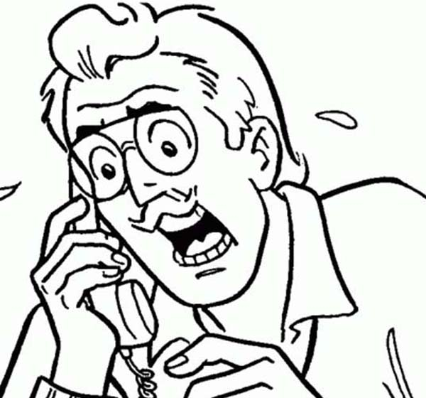 Archie, : Mr Hiram Lodge is Panic in Archie Comics Coloring Page