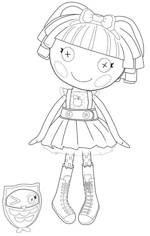 lalaloopsy bea spells a lot from lalaloopsy coloring page bea spells a lot from