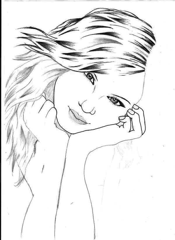 beautiful picture of taylor swift coloring page - Taylor Swift Coloring Pages