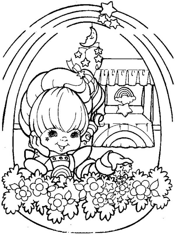 Rainbow Brite, : Beautiful Rainbow Brite Coloring Page
