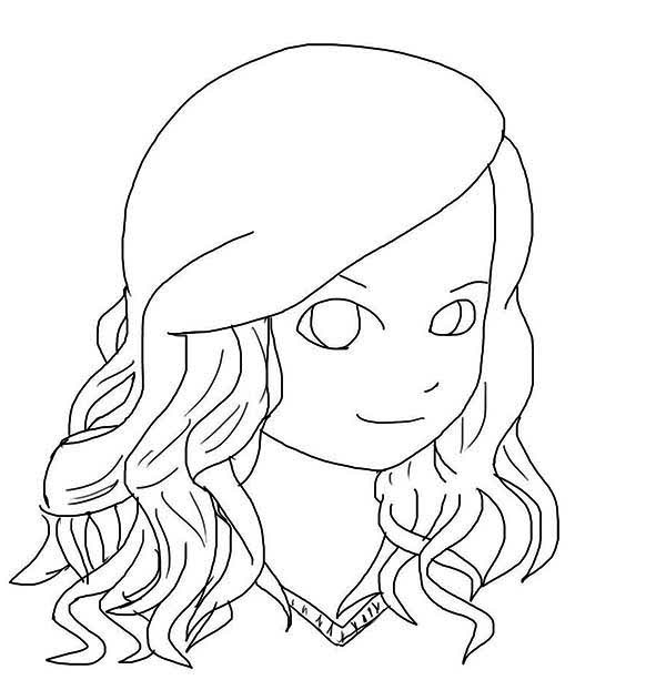 chibi taylor swift coloring page - Coloring Pages People Realistic