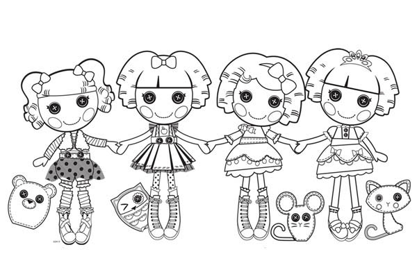 Image Result For Pillow Lalaloopsy Coloring Page