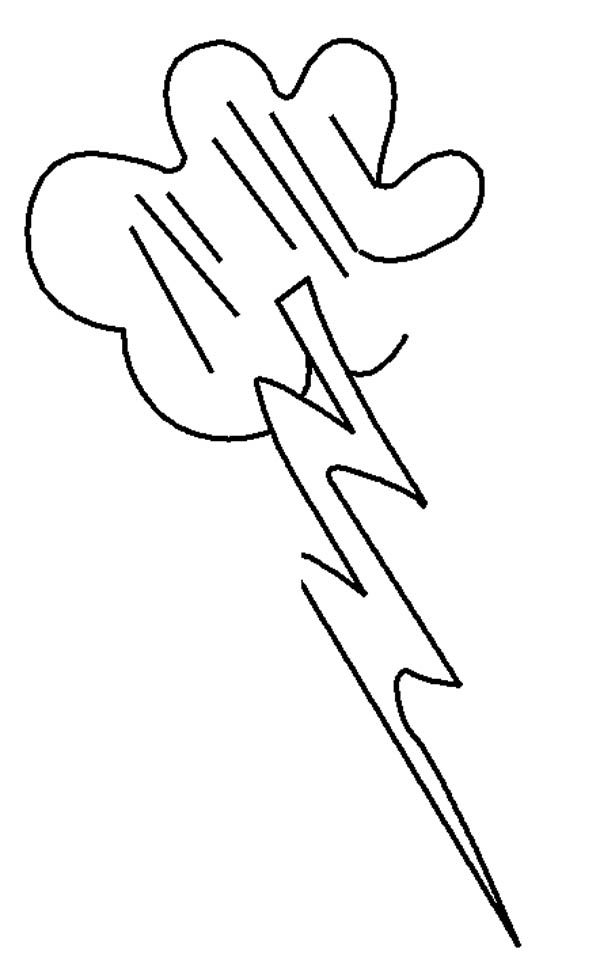Lighting Bolt Picture Coloring Page  sc 1 st  Free Printable Coloring Pages : lighting bolt image - azcodes.com