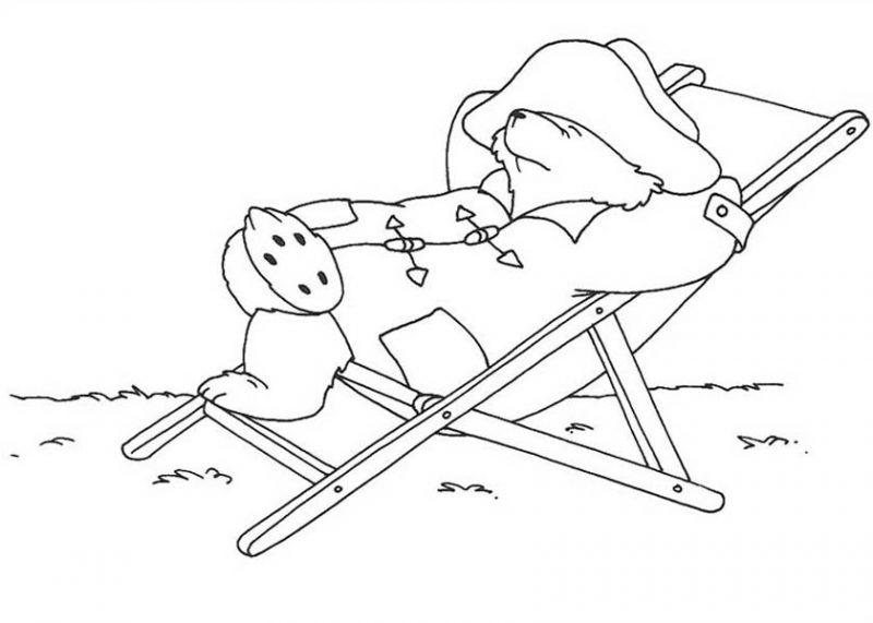 paddington bear paddington bear lazy day coloring page paddington bear lazy day coloring pagefull