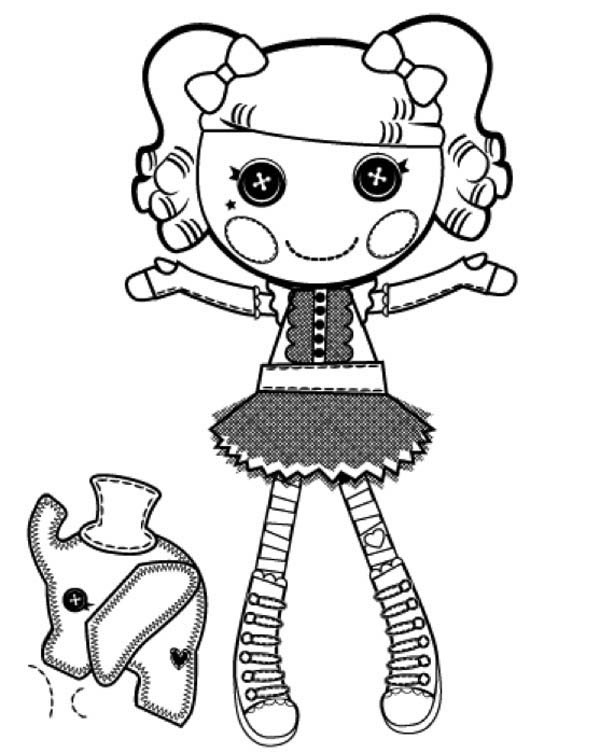 Peanut Big Top from Lalaloopsy Coloring Page | Color Luna