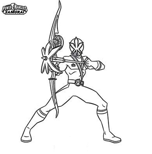 power rangers samurai coloring pages | Pink Power Rangers Samurai Coloring Page | Color Luna