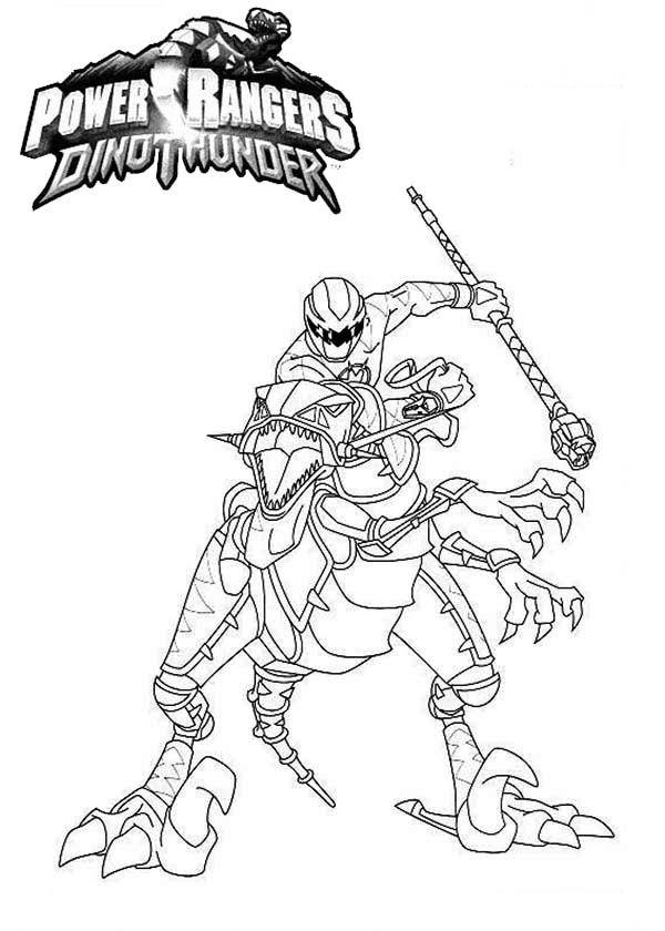 dino thunder coloring pages - photo#26