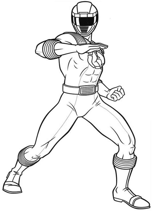 Power Rangers Ninja Storm Defending Earth Coloring Page Color Luna