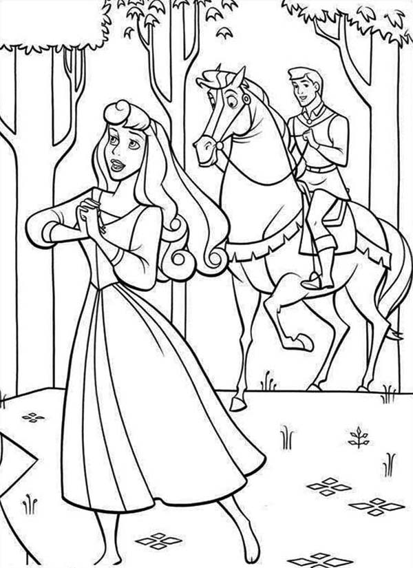 Prince Phillip Found Princess Aurora in Sleeping Beauty Coloring ...