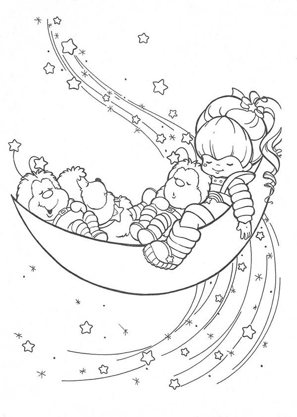 Coloring pages oj sideswipe for Half moon coloring pages