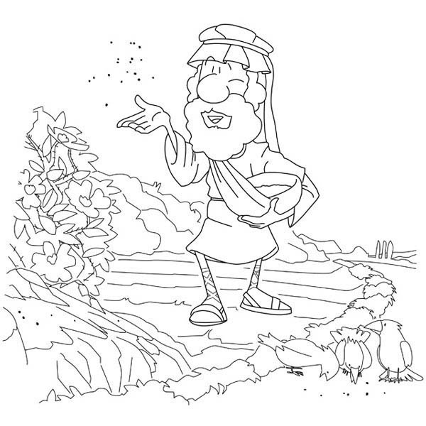 coloring pages seeds soil - photo#16