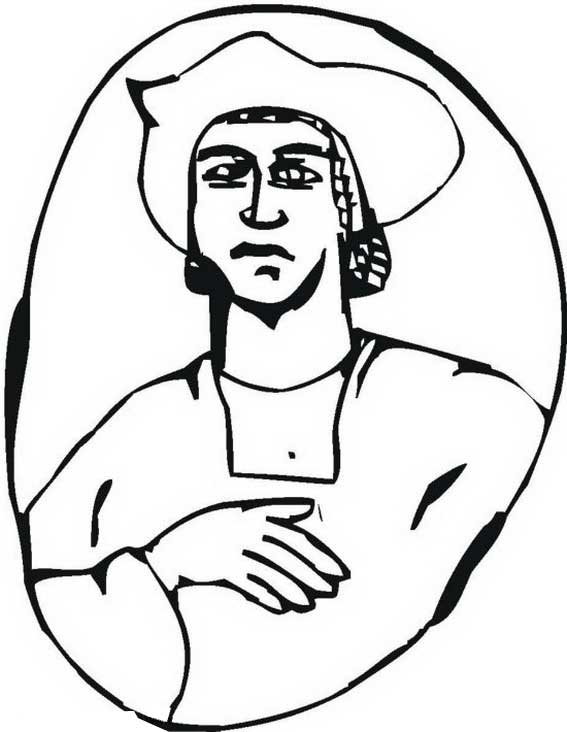 Columbus Day, : Columbus Day Legacy Coloring Page