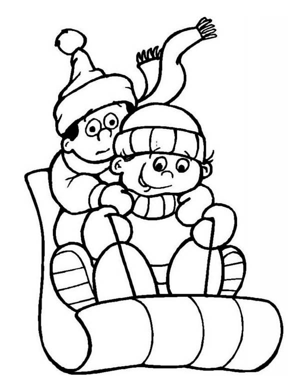 hiking coloring pages for kids - photo#31