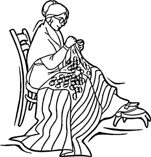 betsy ross sewed usa flag for independence day event coloring pages