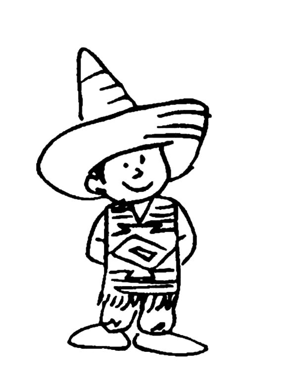 Mexican Dress, Charro Suit Mexican Dress Coloring Pages: Charro Suit Mexican Dress Coloring Pages