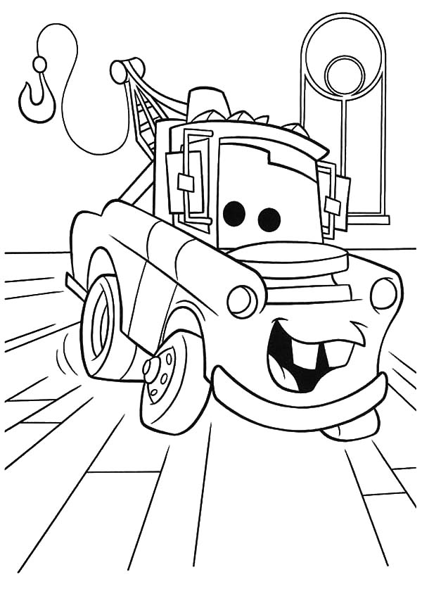 cars character coloring pages - photo#18