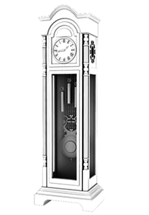 Grandfather Clock, Expensive Grandfather Clock Coloring Pages: Expensive Grandfather Clock Coloring Pages