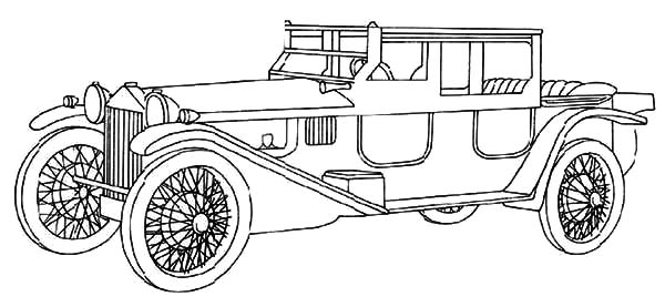Model t Car, Expensive Model T Car Coloring Pages: Expensive Model T Car Coloring Pages