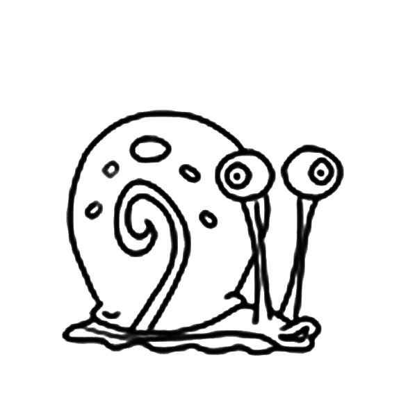 Gary, Gary The Snail Is Hungry Coloring Pages: Gary the Snail is Hungry Coloring Pages