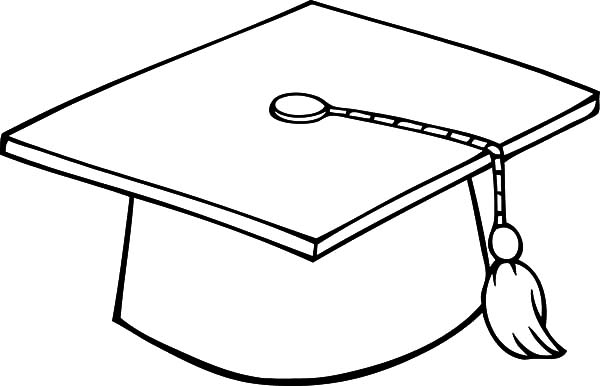 graduation cap coloring pages - Graduation Coloring Pages