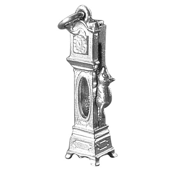 Grandfather Clock, Grandfather Clock Key Chain Coloring Pages: Grandfather Clock Key Chain Coloring Pages